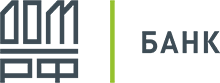 Логотип Банк ДОМ.РФ